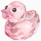 Happy Ente - Rosy Ruby - Swarovski, 1143453