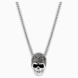Μενταγιόν Taddeo Skull, μαύρο, μεικτό μεταλλικό φινίρισμα - Swarovski, 1180839