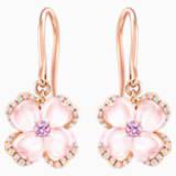 18K RG Poppy Earrings - Swarovski, 5009719