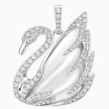 瑰丽天鹅18K金水晶钻石链坠 - Swarovski, 5009865