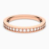 Rare Ring, White, Rose-gold tone plated - Swarovski, 5032899