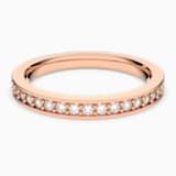 Anello Rare, bianco, Placcato oro rosa - Swarovski, 5032901