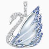 18K WG Faithful Pendant (Small) (Blue) - Swarovski, 5036321