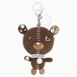 Arnold Bag Charm, Brown, Stainless steel - Swarovski, 5039235