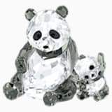 Panda Mother with Baby - Swarovski, 5063690
