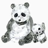 Panda Mother with Baby - Swarovski, 5063690