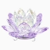 Svícen leknín, fialový - Swarovski, 5066011