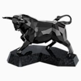 Bull , Black - Swarovski, 5079250