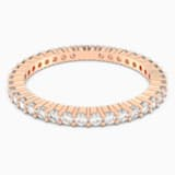 Vittore Ring, White, Rose-gold tone plated - Swarovski, 5083129