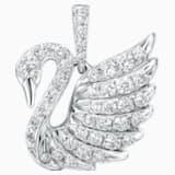 18K WG Dia Mini Swan Pendant (White) - Swarovski, 5104090