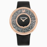 Crystalline Black Rose Gold Tone Watch - Swarovski, 5105127