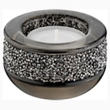 Shimmer Tea Light Holder , Gray - Swarovski, 5108876