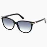 Edith 太阳眼镜, SK0077-F 01B, Black - Swarovski, 5126353