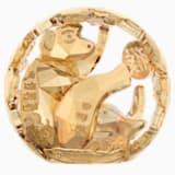 Zodiaco Cinese – Scimmia, Dorata - Swarovski, 5127853