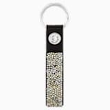 Glam Rock kulcstartó, fekete, nemesacél - Swarovski, 5174947