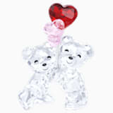 Kris Bear mackó - Szív alakú lufik - Swarovski, 5185778