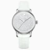 Crystalline Hours Watch, White - Swarovski, 5218899