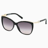 Festive 太陽眼鏡, SK0104-F 01B, Black - Swarovski, 5219795