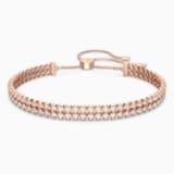 Bransoletka Subtle, biała, w odcieniu różowego złota - Swarovski, 5224182