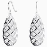 Open Lattice Drop Earrings - Swarovski, 5229288