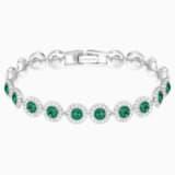 Angelic Браслет, Зеленый Кристалл, Родиевое покрытие - Swarovski, 5237769