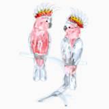 Pembe Papağanlar - Swarovski, 5244651