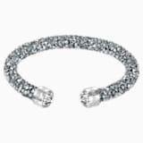 Crystaldust Cuff, Gray, Stainless steel - Swarovski, 5250071
