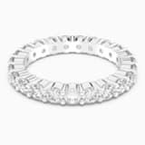 Vittore XL 戒指, 白色, 鍍銠 - Swarovski, 5257465