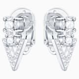Funk Clip Earrings - Swarovski, 5262217