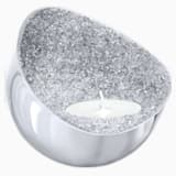 Minera Tea Light Holder, Silver Tone - Swarovski, 5265143