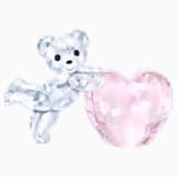 Kris Bear - Pink Heart - Swarovski, 5265323