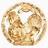 Chinese Zodiac - Dog, Gold Tone - Swarovski, 5272902