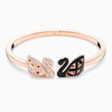 Brazalete Facet Swan, multicolor, Combinación de acabados metálicos - Swarovski, 5289535
