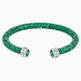 Crystaldust Cuff, Green, Stainless steel - Swarovski, 5292919