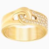 Gallon 戒指, 金色, 镀金色调 - Swarovski, 5293777