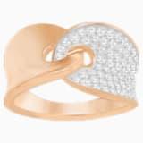 Guardian 戒指, 白色, 镀玫瑰金色调 - Swarovski, 5295003