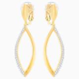 Grape Clip Earrings - Swarovski, 5297943