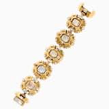 Cristaux Deco Bracelet, ruthenium plating - Swarovski, 5298747