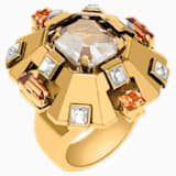 Cristaux Deco Large Ring, Gold-tone plated - Swarovski, 5298750