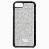 Glam Rock Smartphone Case with Bumper, iPhone® 7, Gray - Swarovski, 5300257