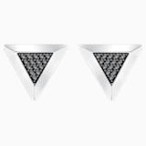 Gentleman Triangle Cufflinks, Grey, Mixed plating - Swarovski, 5352222