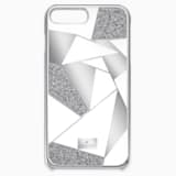 Heroism Smartphone Case with Bumper, iPhone® 8 Plus, Gray - Swarovski, 5352909