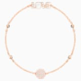 Swarovski Remix Collection Emotion Strand, White, Rose-gold tone plated - Swarovski, 5353846