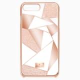 Heroism Smartphone Case with Bumper, iPhone® 8, Pink - Swarovski, 5354494