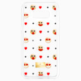 Humorist Smartphone Case with Bumper, Samsung Galaxy S® 8, Transparent - Swarovski, 5364494