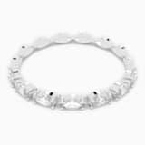 Δαχτυλίδι Vittore Marquise, λευκό, επιροδιωμένο - Swarovski, 5366570