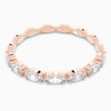 Vittore Marquise Ring, White, Rose-gold tone plated - Swarovski, 5366571