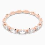 Vittore Marquise 戒指, 白色, 镀玫瑰金色调 - Swarovski, 5366583