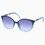 Swarovski Sunglasses, SK0149 90W, Blue - Swarovski, 5370724