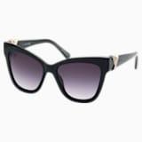 Swarovski Sunglasses, SK0157 01B, Black - Swarovski, 5370728